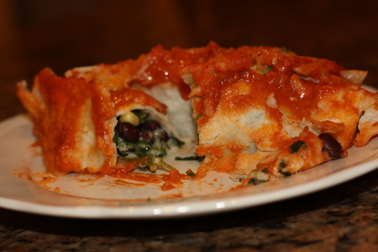 Vegetarian Enchiladas Recipes — Dishmaps