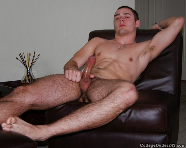 Nude straight college guy