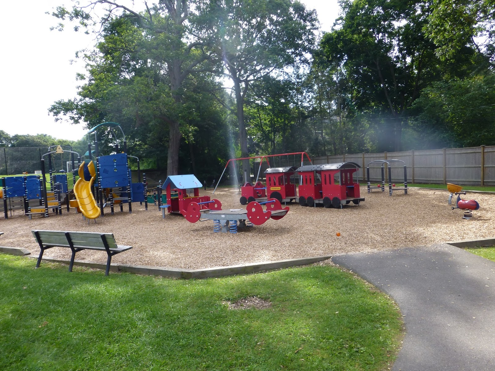 visiting brookline playgrounds soule playground splash park and