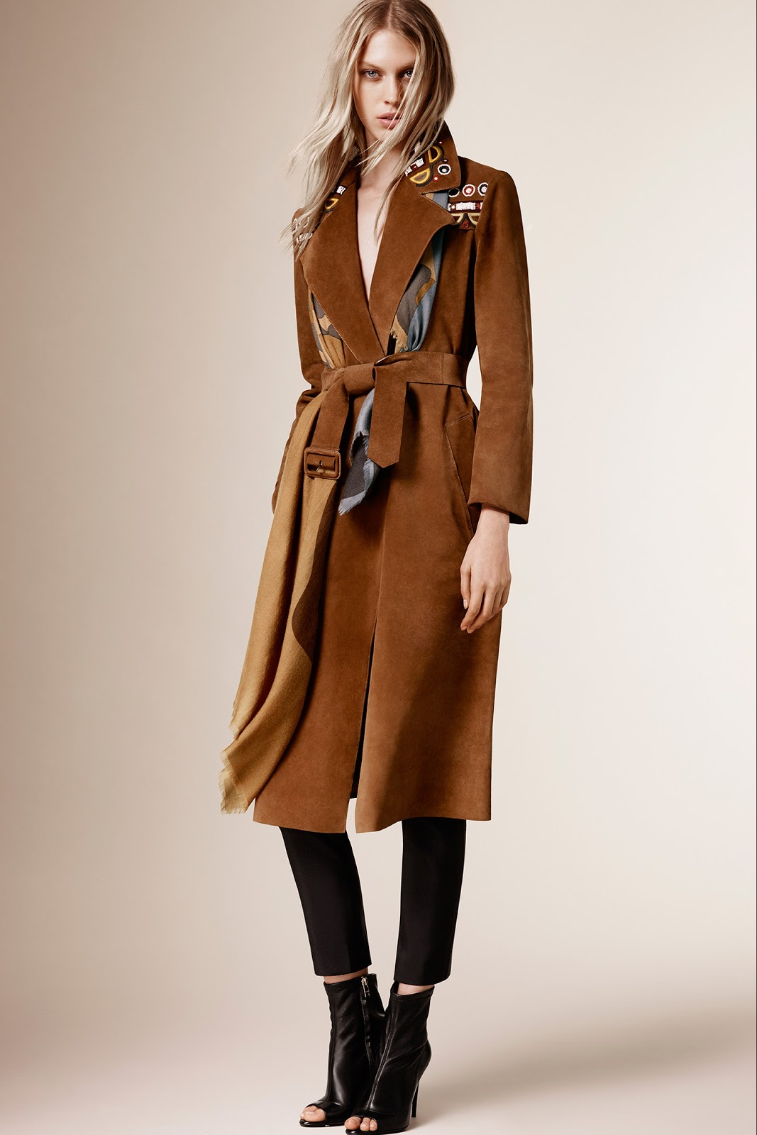 via fashioned by love | Burberry Prorsum Pre-Fall 2015 | camel trends | 2015