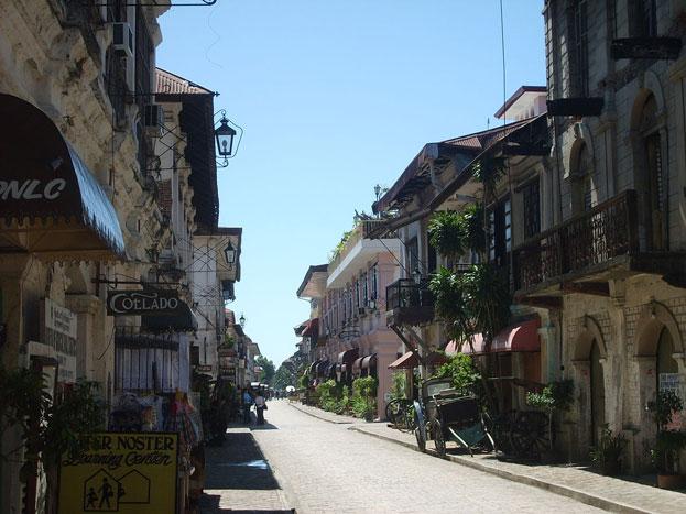 Vigan Calle Crisologo Philippines