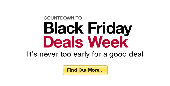 Black Friday Deals 2012