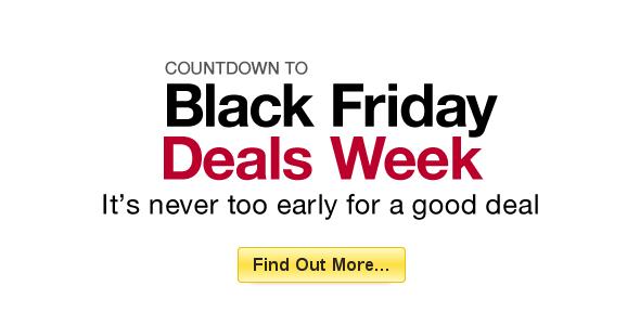 Black Friday Deals 2012