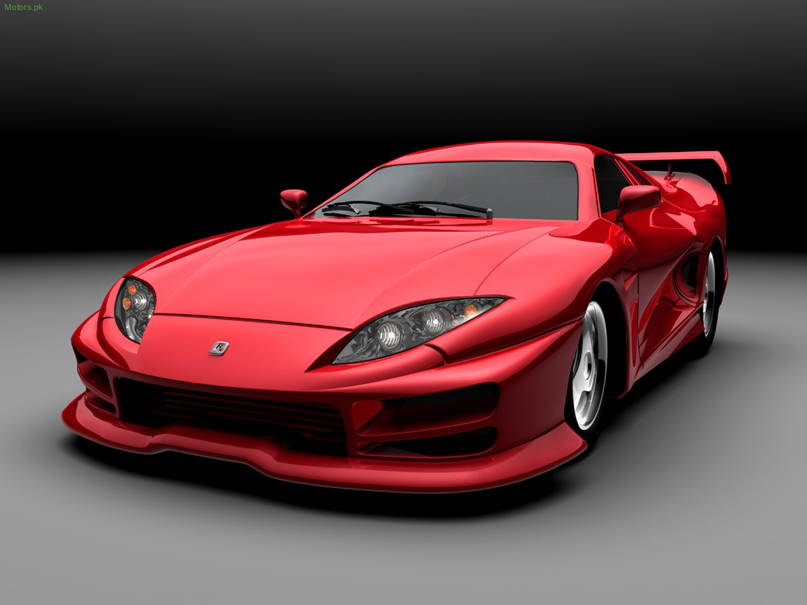 Elegant Red Sports Car