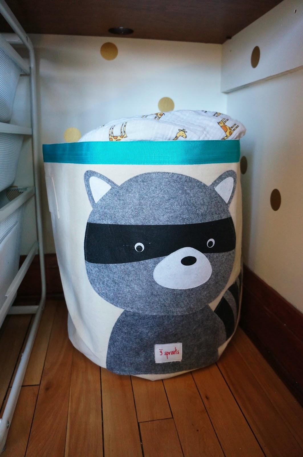 Raccoon Storage Bin