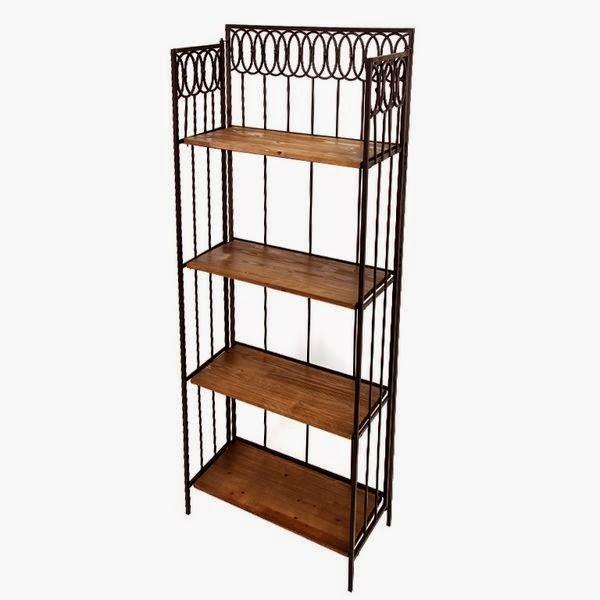 Muebles de forja nuevas estanter a en forja y madera serie handan - Estanteria forja ...