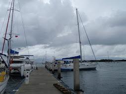 QuickStar at the dock