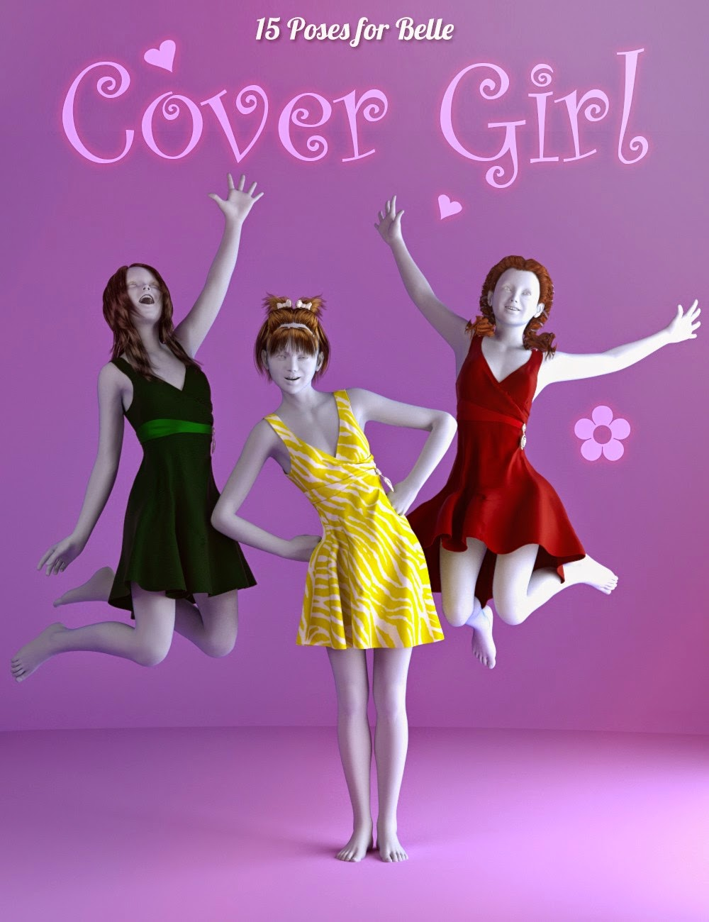 Cover Girl Poses pour Belle 6