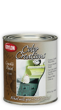 How To Use Krylon Crackle Paint