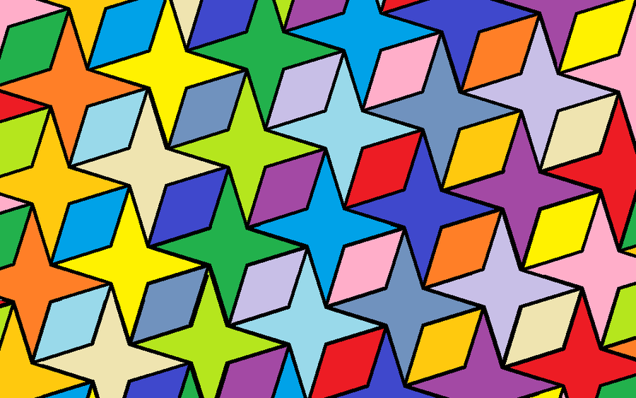 Brittsmathematicalblog.blogspot on Easy To Do Tessellations