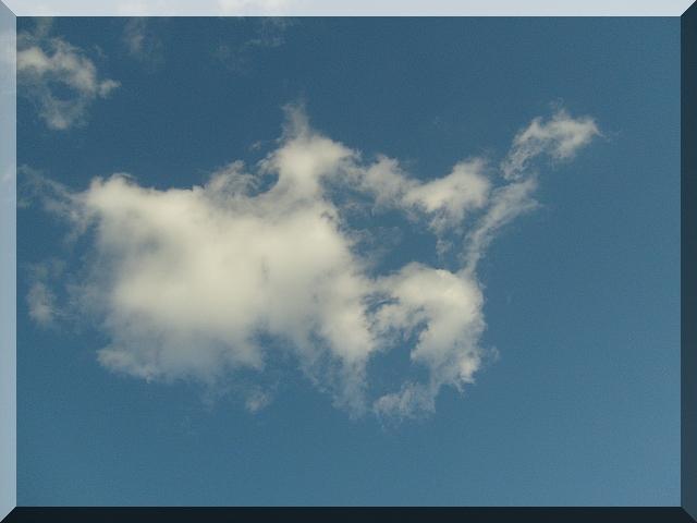 облака - чудесные фигуры