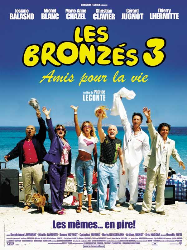 Les Bronzés 3 - Amis pour la vie affiche