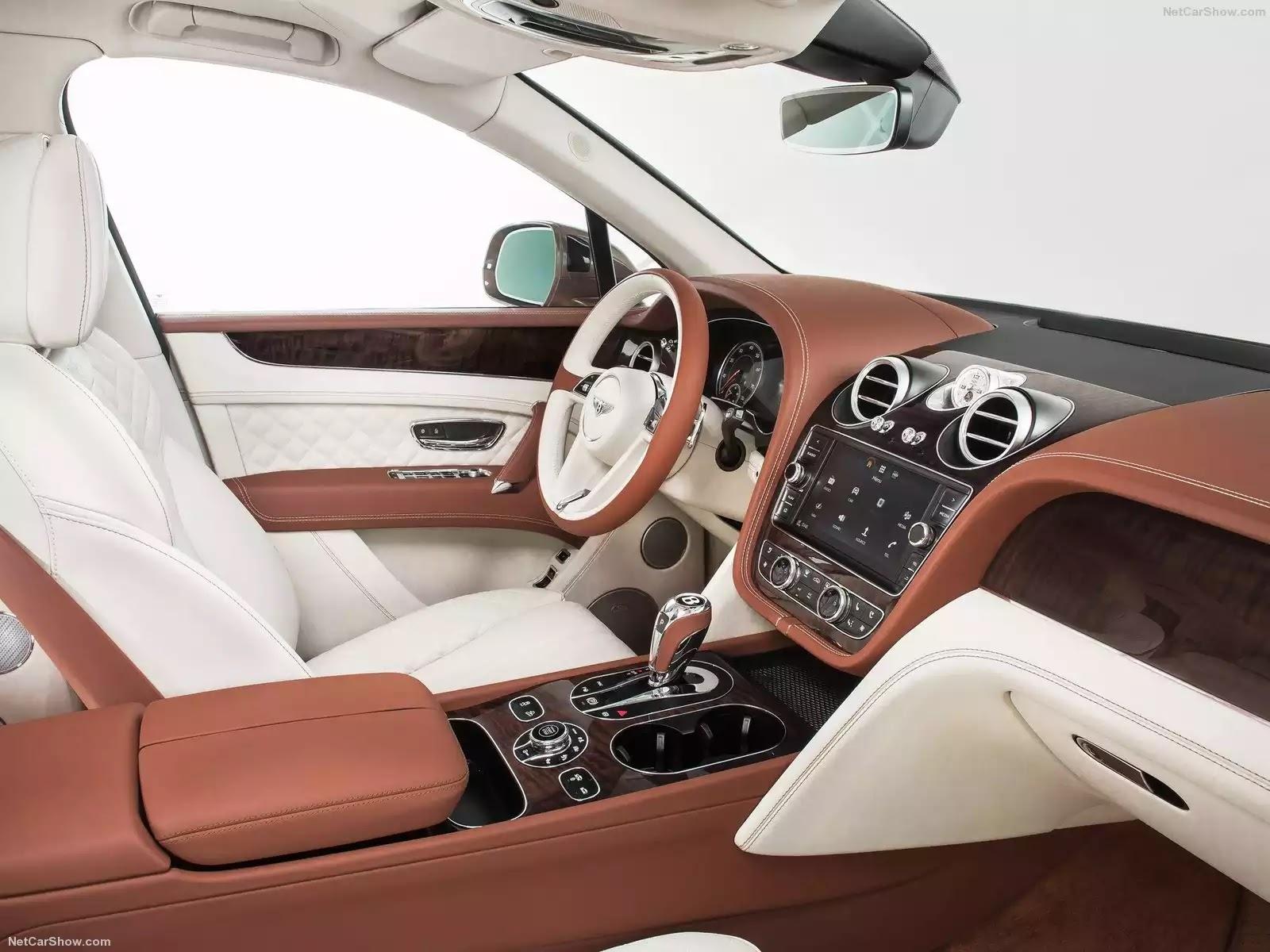 Hình ảnh xe ô tô Bentley Bentayga 2016 & nội ngoại thất