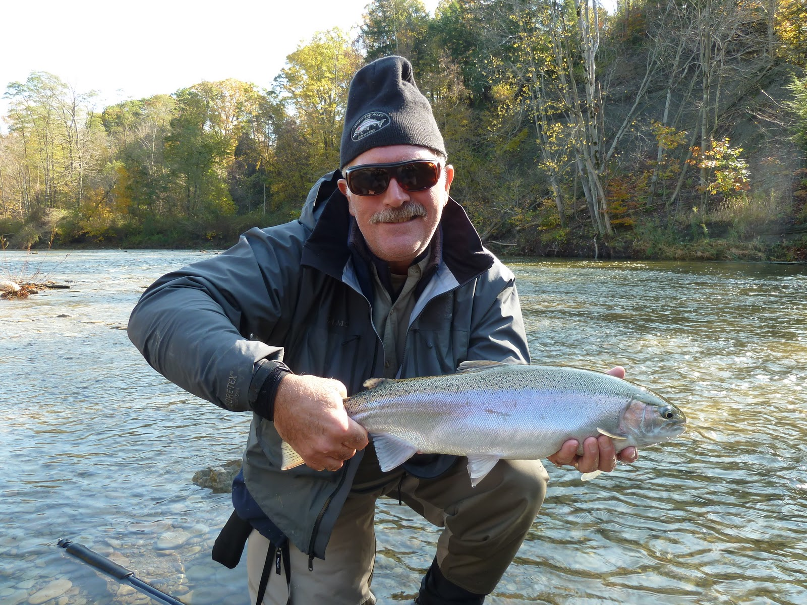 Steelhead alley outfitters lake erie fly fishing guide for Plenty of fish erie pa