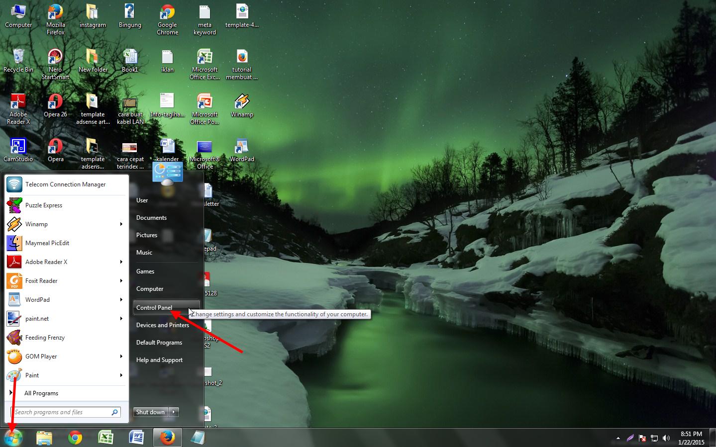 cara menghapus program di windows 7