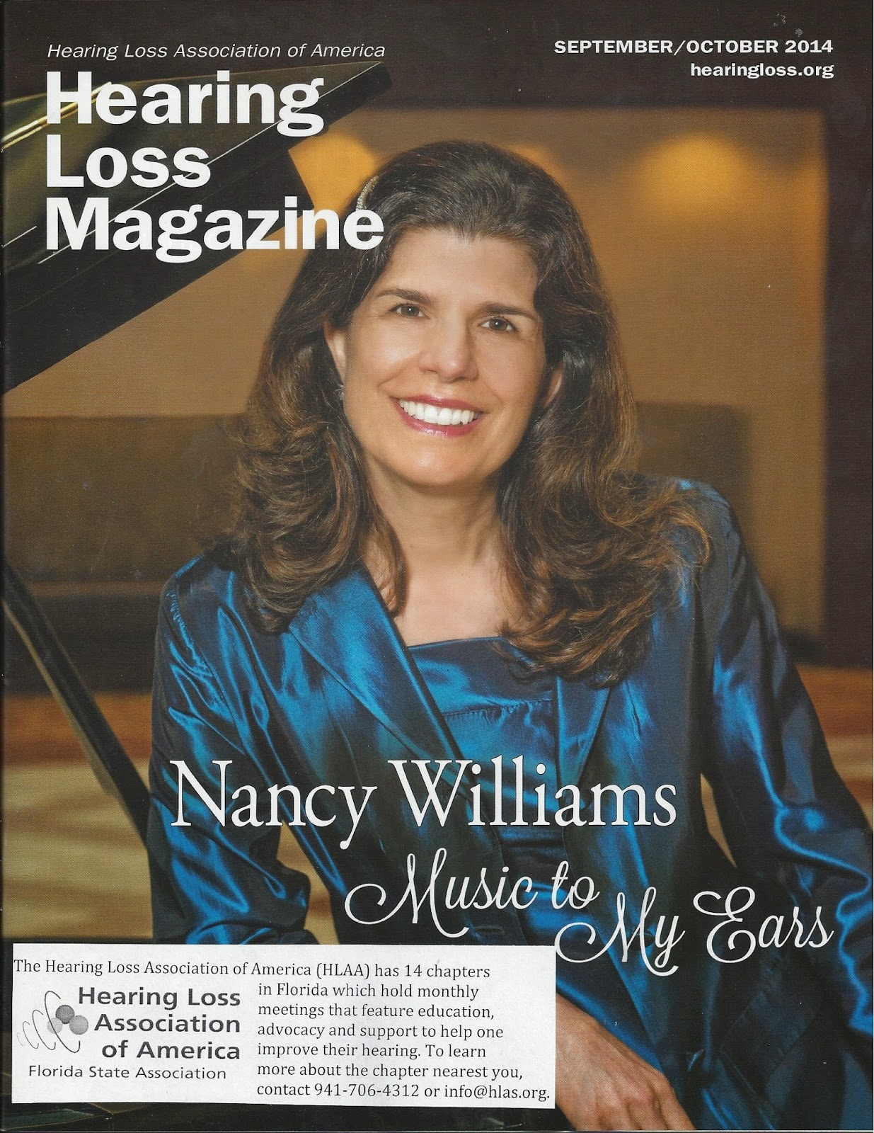 Hearing Loss Magazine front cover