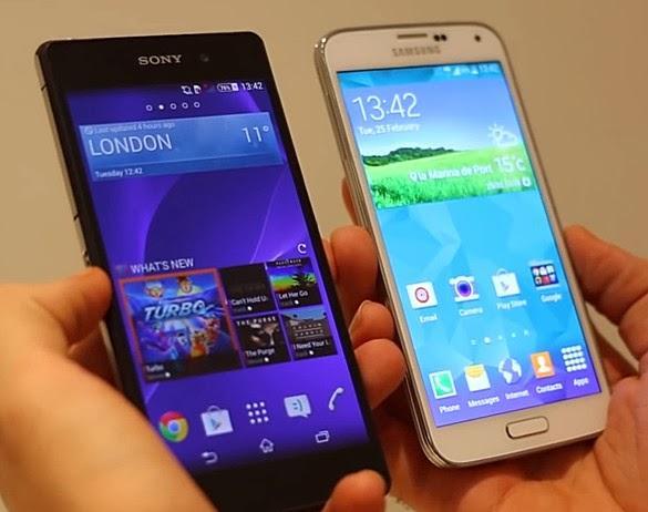 Samsung Galaxy S5 vs Sony Xperia Z2, Samsung Galaxy S5 Philippines