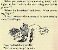take time for a pooh break