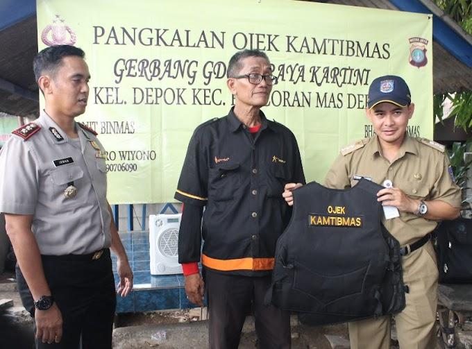 Polres Launching Pangkalan Ojeg Kamtibmas