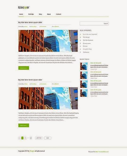 Qara - Free Wordpress Theme