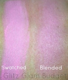 ELF Studio Blush In Pink Passion Swatches