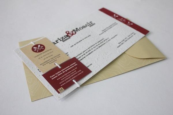 Convite de casamento - la santé