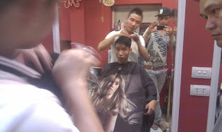 học cắt tóc, dạy nghề tạo mẫu tóc nam nữ tại hà nội