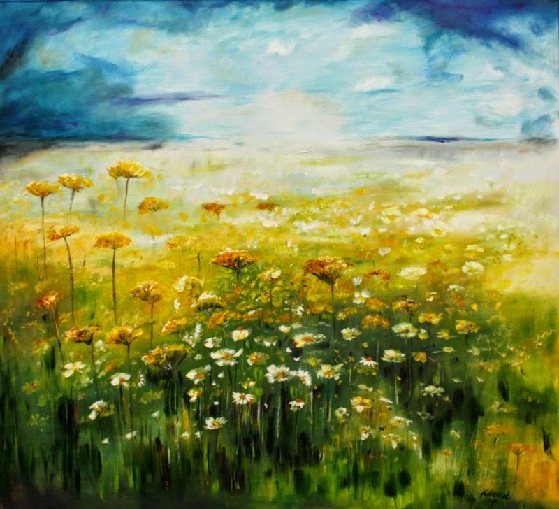 Dni człowieka są jak trawa; kwitnie jak kwiat na polu: ledwie muśnie go wiatr, a już go nie ma, i m