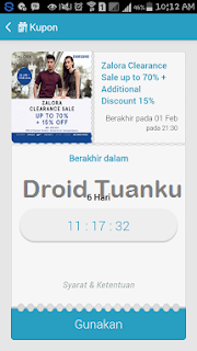 Menggunakan Samsung Gift di Android