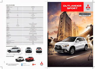 Brosur New Outlander Sport Limited