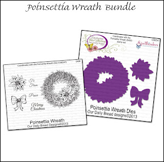 Stamps - Our Daily Bread Designs Poinsettia Wreath Bundle