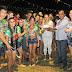 Bom público prestigia primeira noite do I Arraial da Comunidade Maruaga.