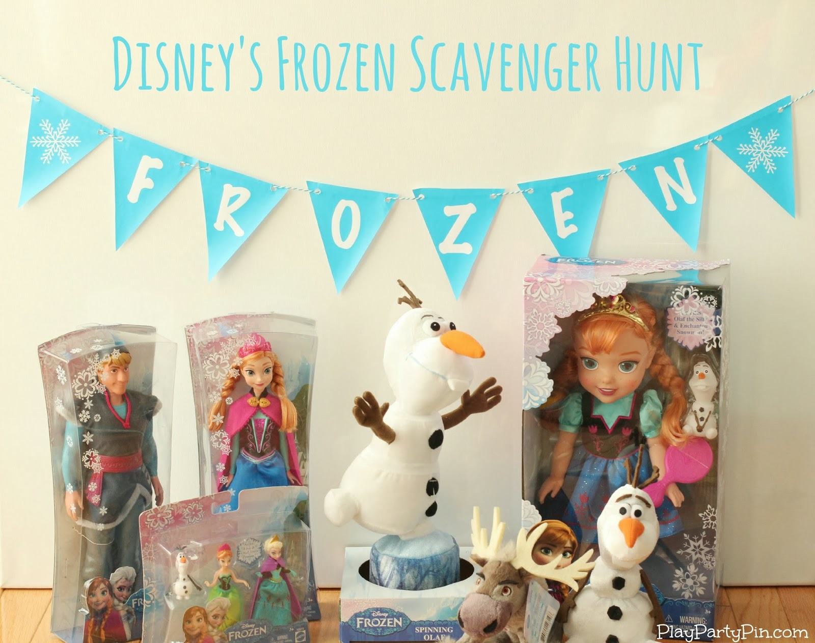 Disney's Frozen merchandise