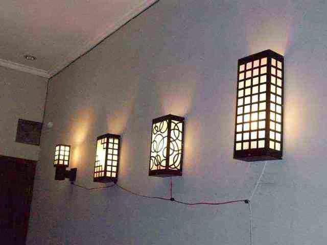 lampu depan rumah minimalis