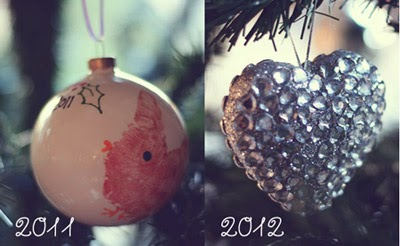 Photographing Christmas decorations