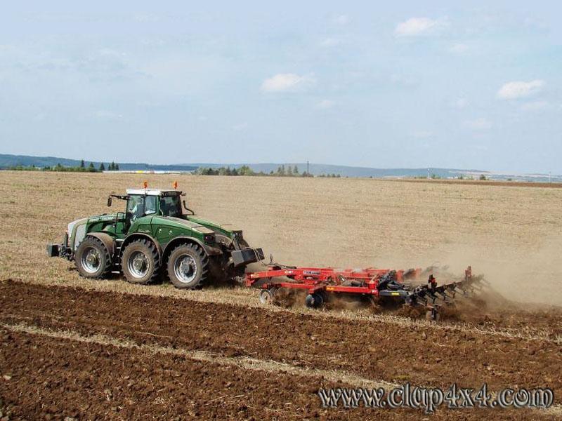 Tractors Farm Machinery Fendt Trisix