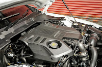 Compare Among BMW 5 Series vs Jaguar XF  engine view for jaguar
