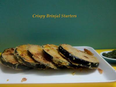 Brinjal Starter Recipe