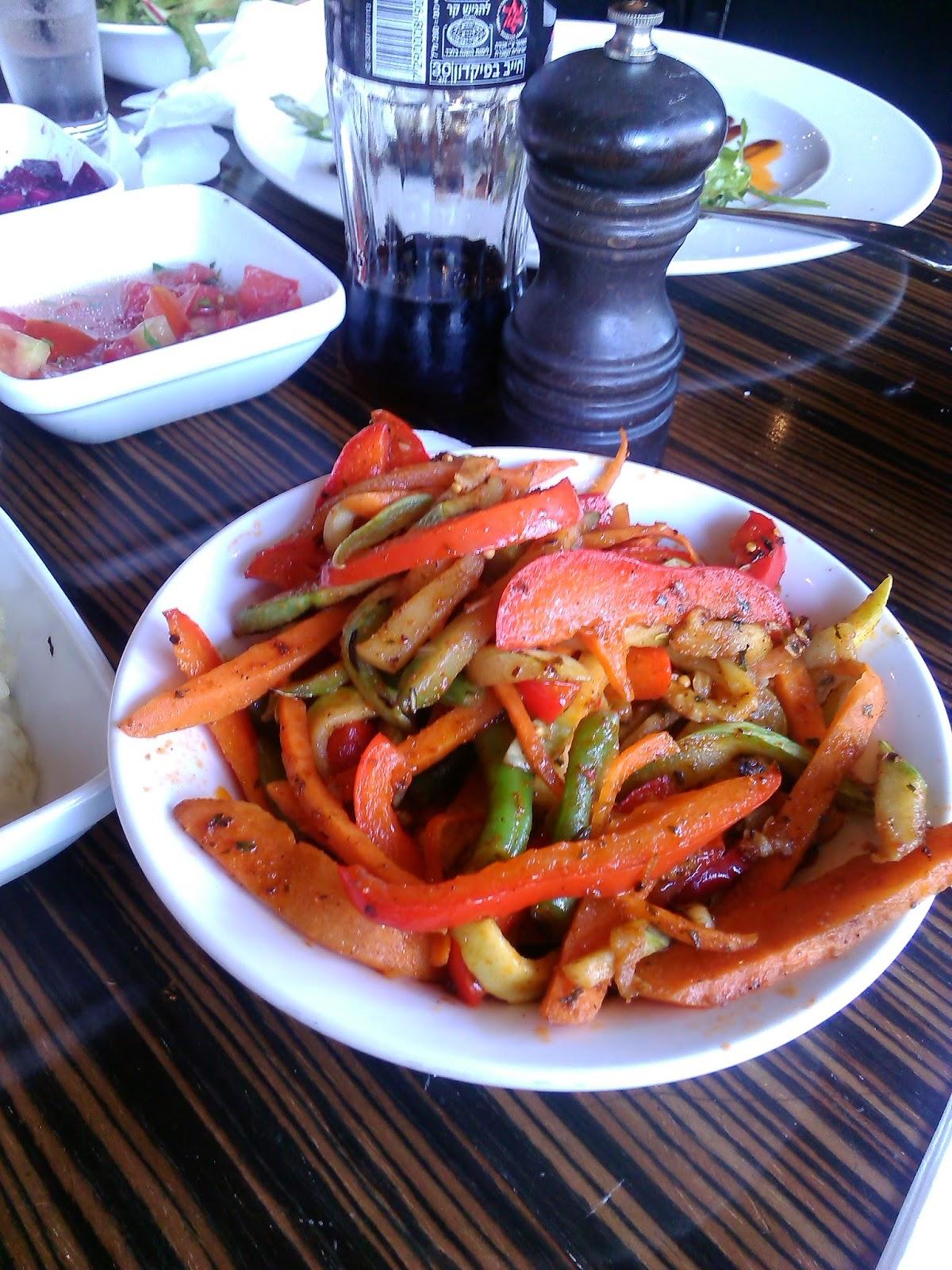 ירקות מוקפצים- לא טעים בכלל