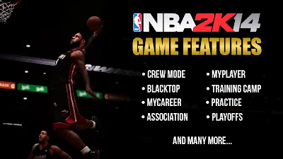NBA 2K14 Current-Gen Game Features Unveiled