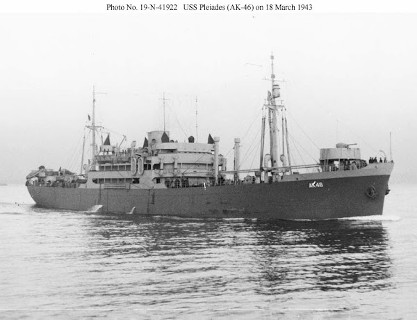 Ship of the Month: USS Pleiades