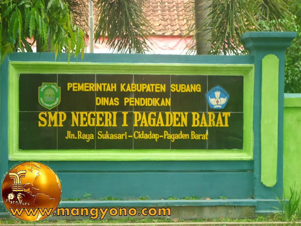 SMP Negeri 1 Pagaden Barat, Kabupaten Subang