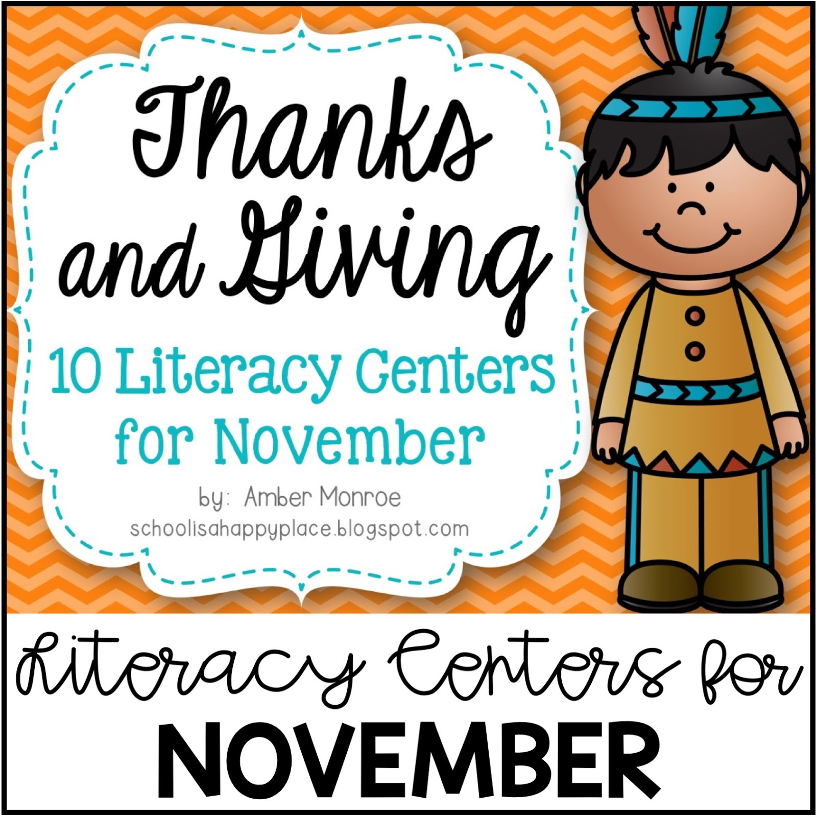 Literacy Centers for November