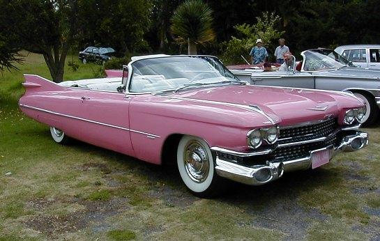 Cadillac 59 Cabriolet Pink Sf2