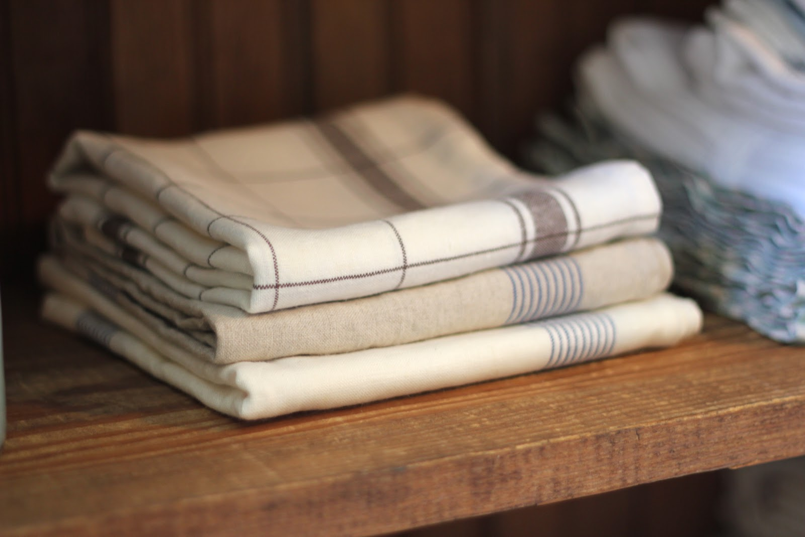 You probably recognize these Libeco linen tea towels - They are the title=