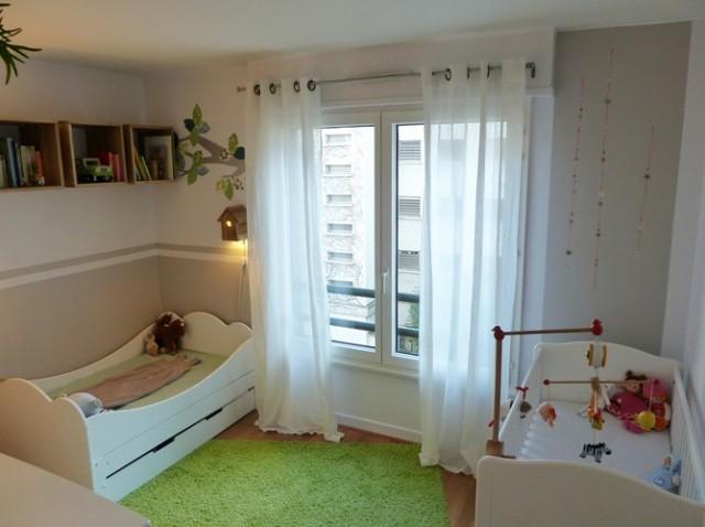 C mo decorar un dormitorio para 2 ni os decora festa for Habitacion nino y nina