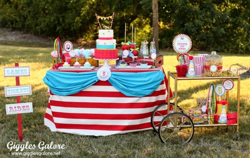 tema festa circus