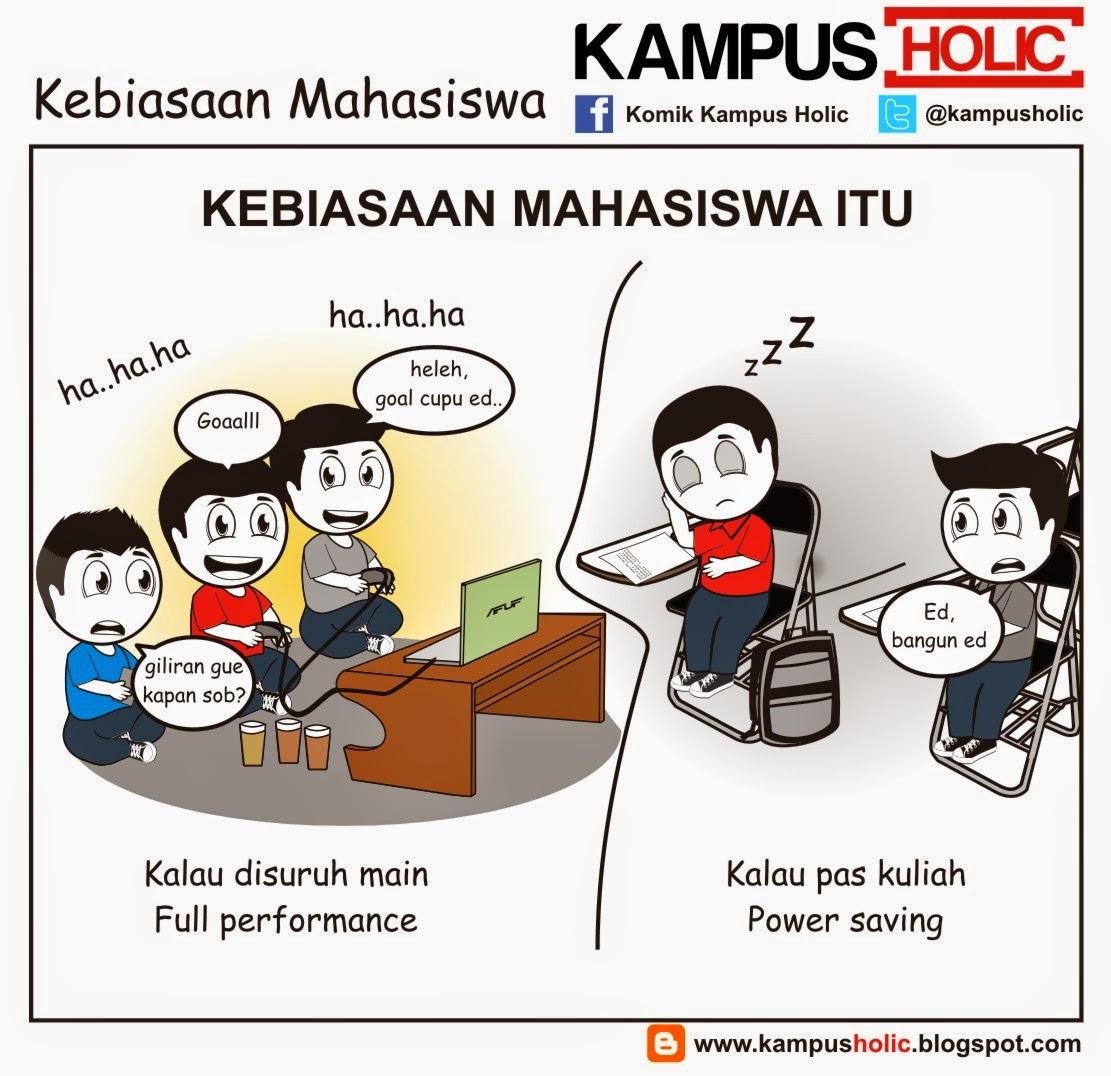 #790 Kebiasaan Mahasiswa