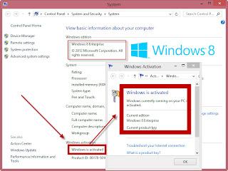 Cara Aktivasi PERMANEN Windows 8