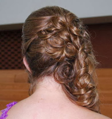 Prom Hairstyles Back View